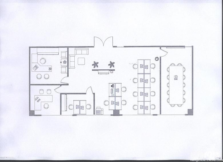 室内布局平面图