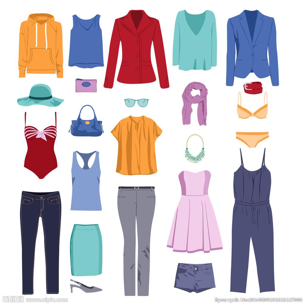 女性衣服设计图