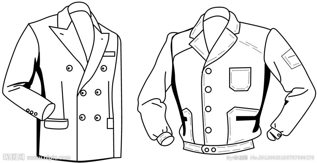 衣服设计图