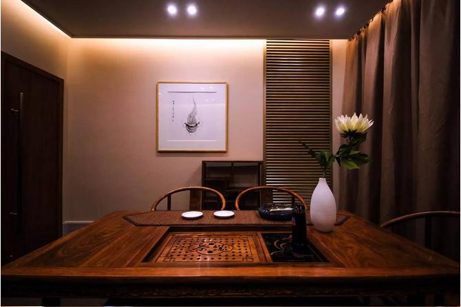 办公室茶室设计方案效果图
