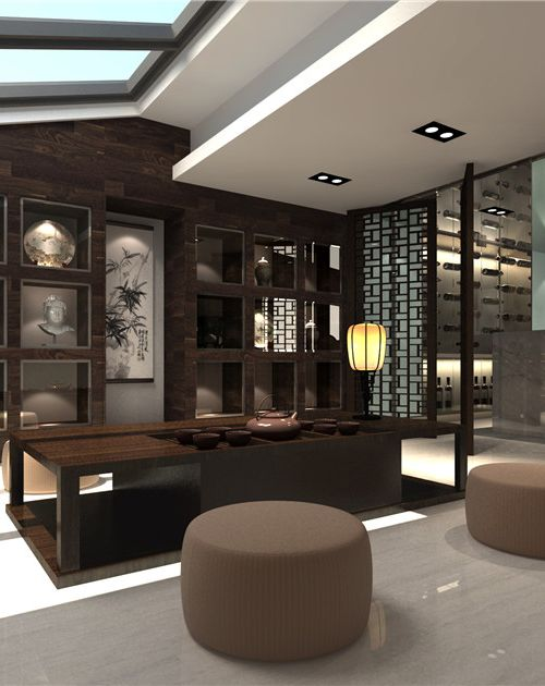 装修图片 茶室图片-最新茶室图片大全   茶室效果图设计|建筑/空间