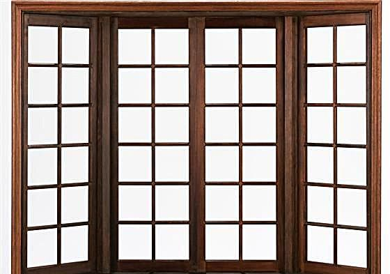 木窗贴图素材设计