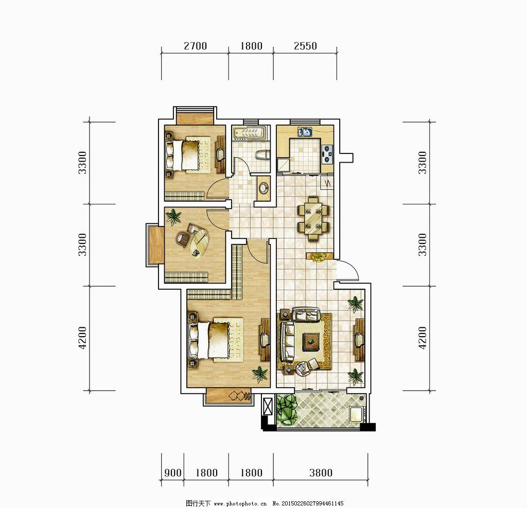 首页 装修图片 格局图片-最新格局图片大全   房屋格局图(610x418)