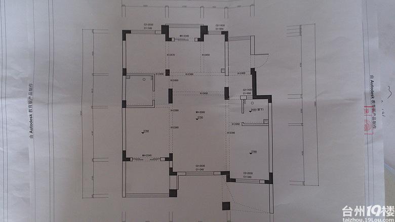 房间平面图