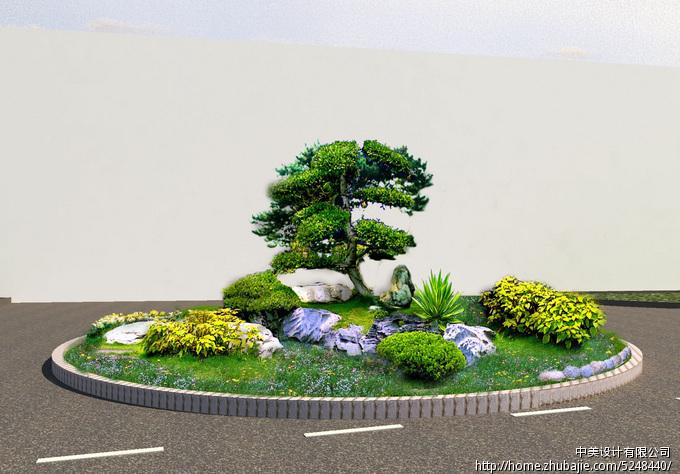 花坛设计平面素材psd图片