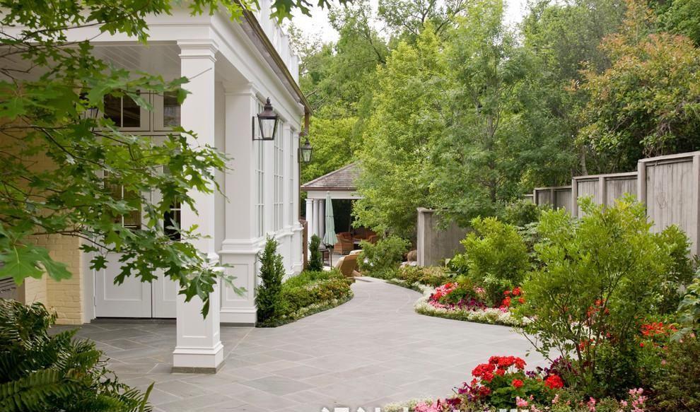 家庭户外花园设计效果图欣赏