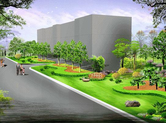 绿化设计图例