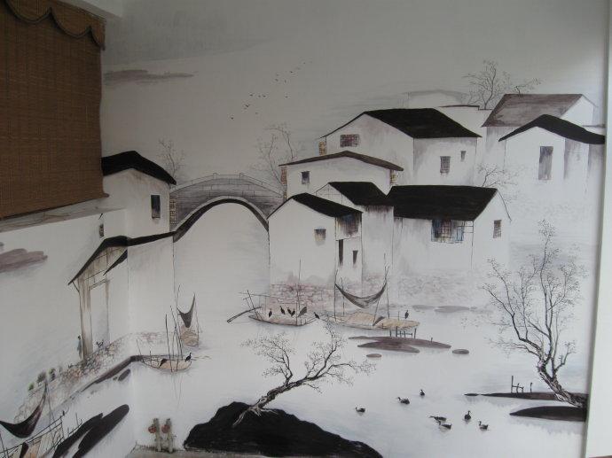 3d 墙绘/立体画 其他 小武111111 墙绘使用哪种颜料最好 饭店墙绘图