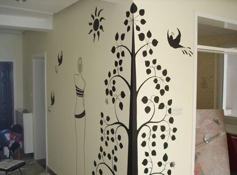 墙绘,3d|墙绘/立体画|其他|小武111111 墙绘使用哪种颜料最好 饭店