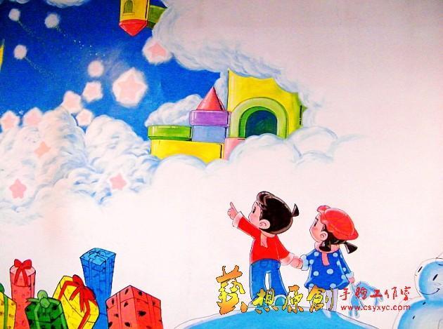 墙绘图片-最新墙绘图片大全_装修图片_新家优装,新家网