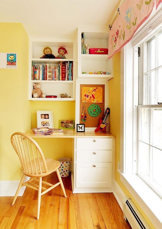 13张书桌书柜设计图实用性十足