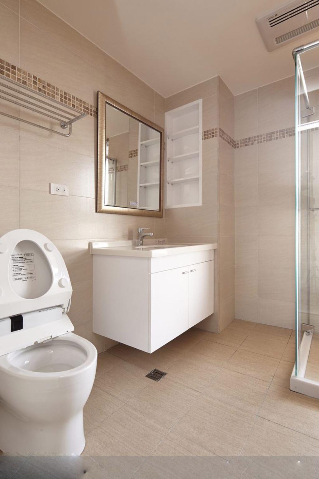 首页 装修图片 浴室图片-最新浴室图片大全  浴室装修效果图106图片