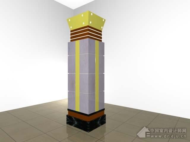 商场柱子装修效果图最近装修