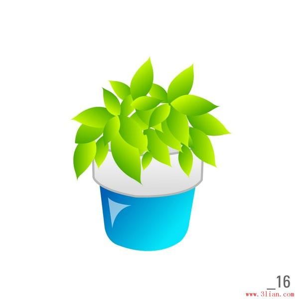 背景 壁纸 绿色 绿叶 盆景 盆栽 树叶 植物 桌面 600_600