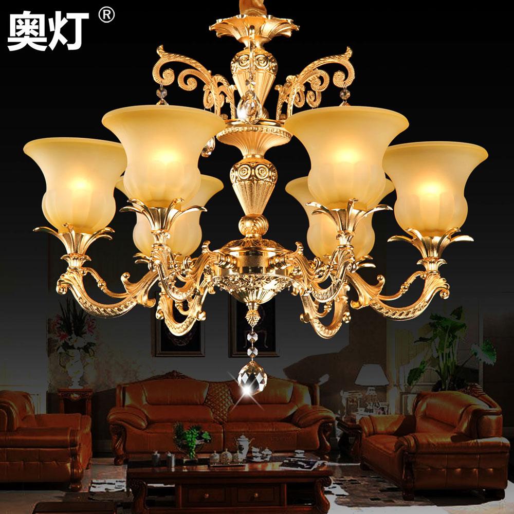餐厅吊灯具水晶灯欧式吊灯饰客厅吊灯餐厅卧室
