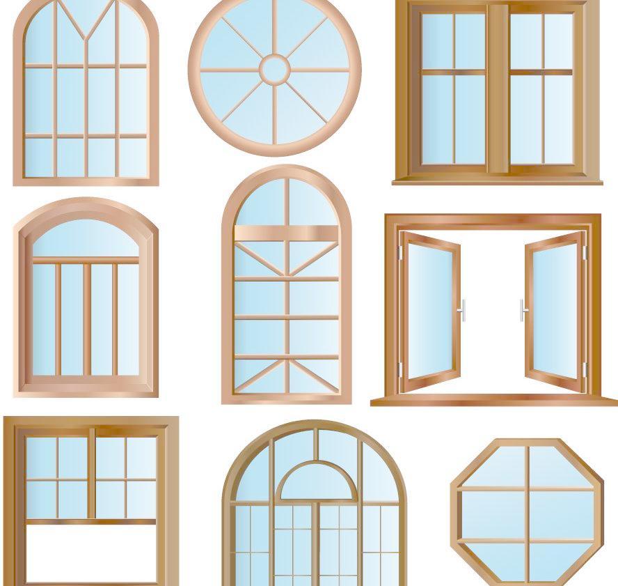 欧式窗户图片家居装饰素材