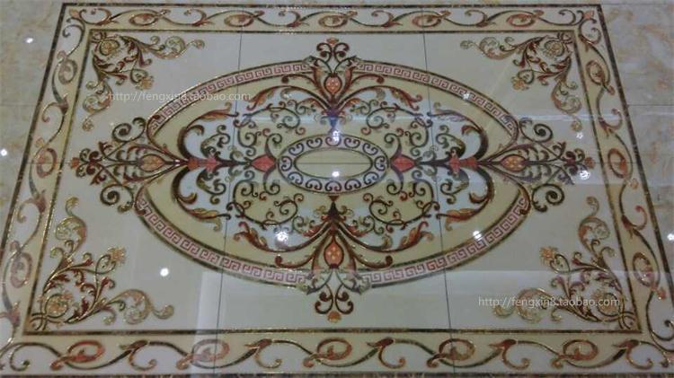 【佛山豪华80全抛釉拼图瓷砖 欧式地毯拼图瓷砖抛晶砖无限拼花砖
