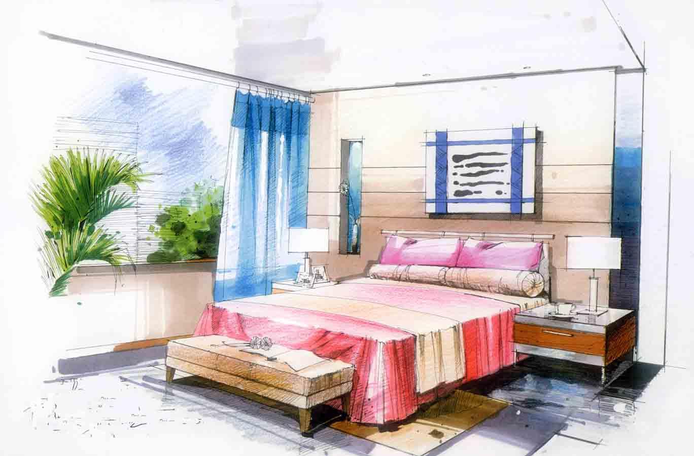 床手绘图片-最新床手绘图片大全
