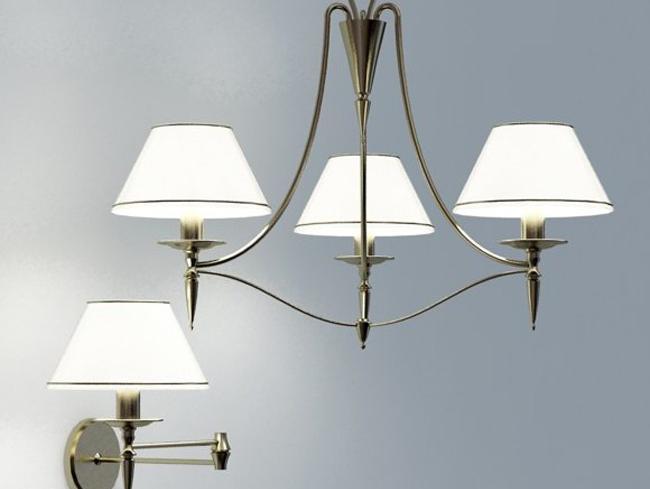 灯具模型图片家居装饰素材