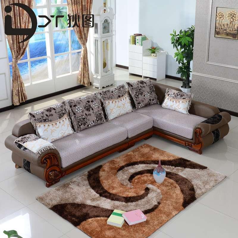 简欧式沙发客厅家具图片