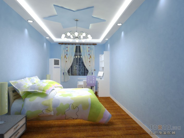 儿童房装修效果图大全2012图片
