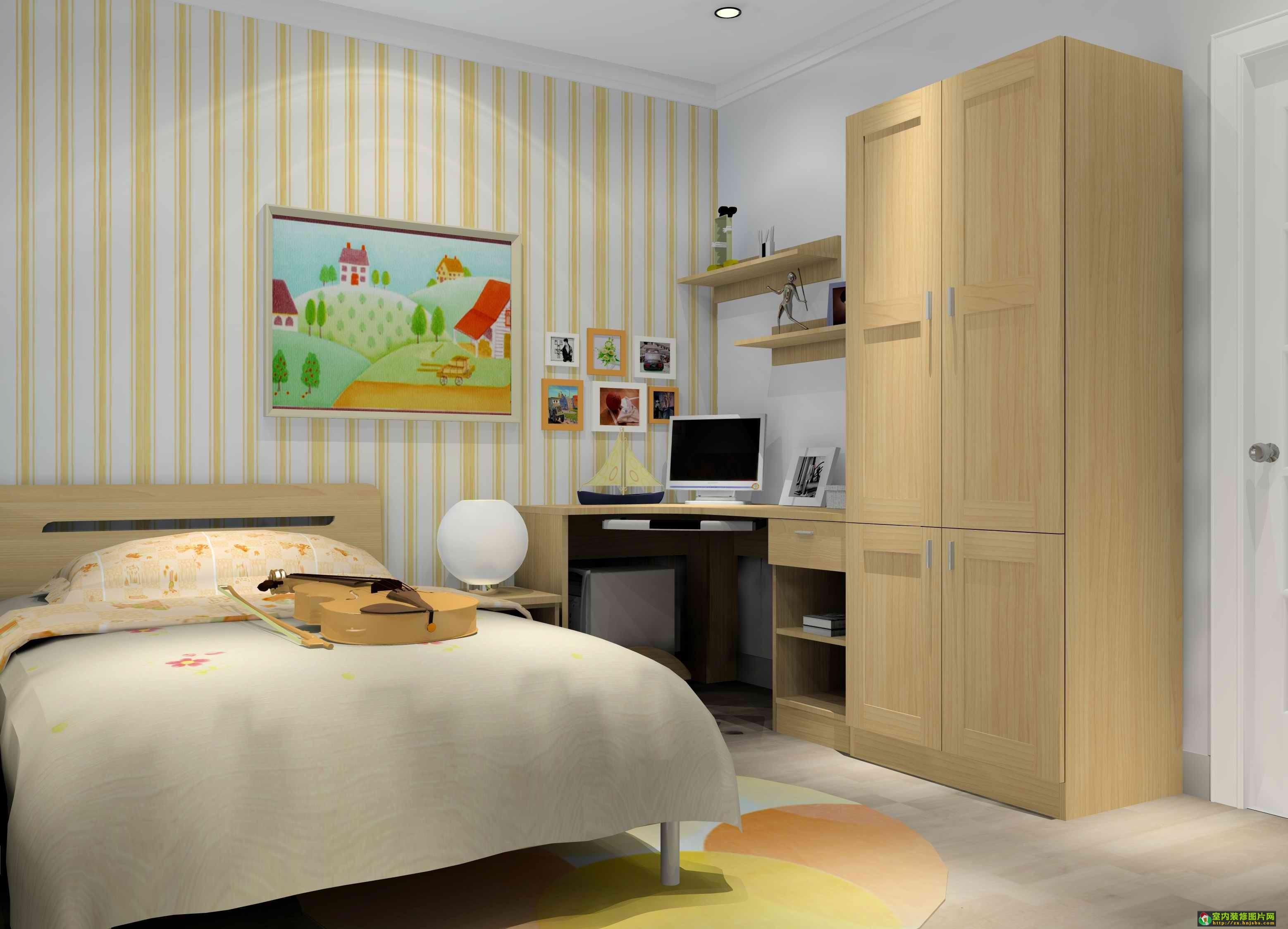 少年房装修效果图少男少女的房间应该是怎样的?