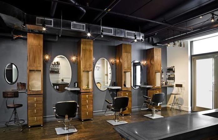 小型理发店装修图片汇总效果图大全