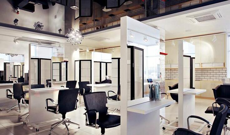 现代风格理发店装修图片效果图大全