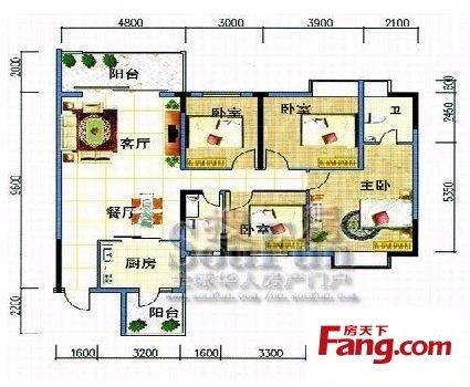 我想求农村五间房的设计图子带炕