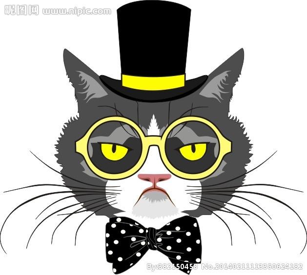 猫矢量图矢量图