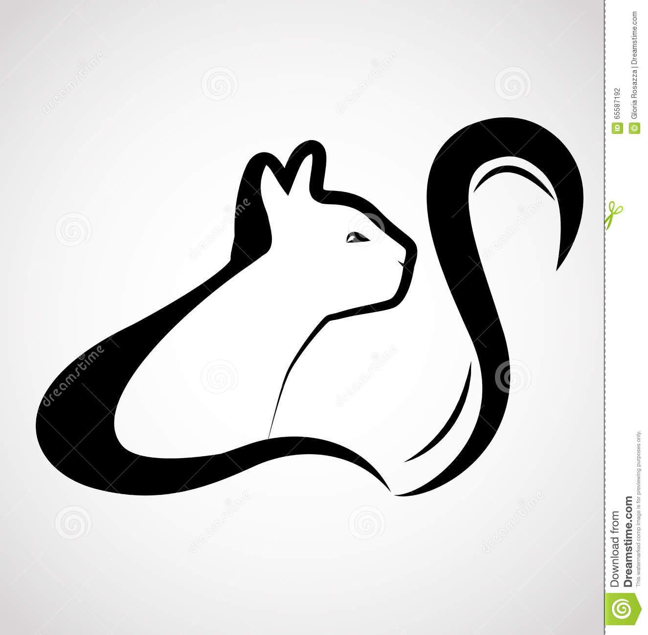 卡通猫博士设计,动物素材