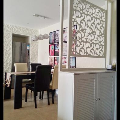 装修图片 隔墙柜图片-最新隔墙柜图片大全   现代一居室隔墙柜设计