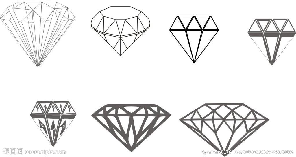 钻石矢量图