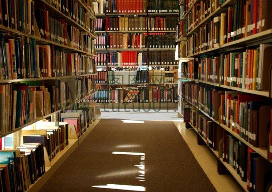图书馆背景图片素材