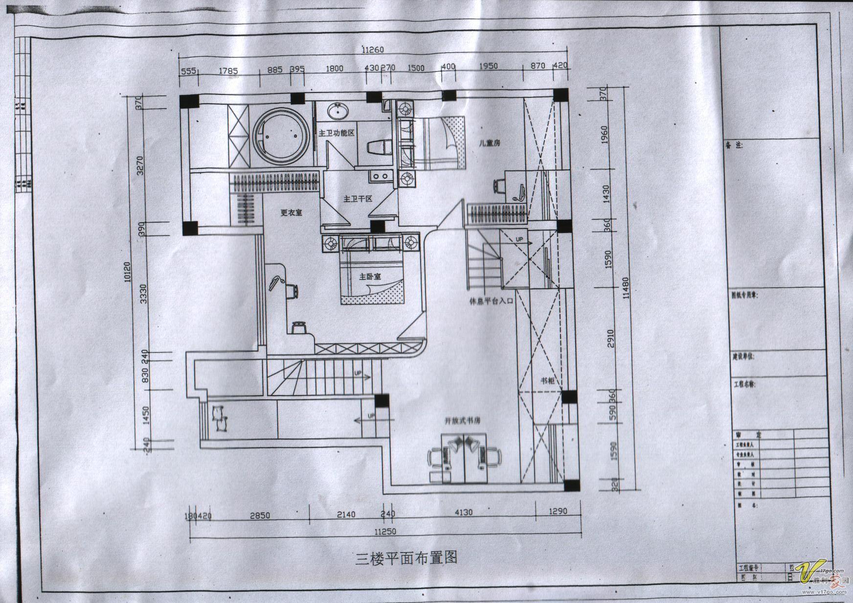 二楼设计图 幸福之家二楼设计图 沧南小区二楼设计图 复式楼二楼图片