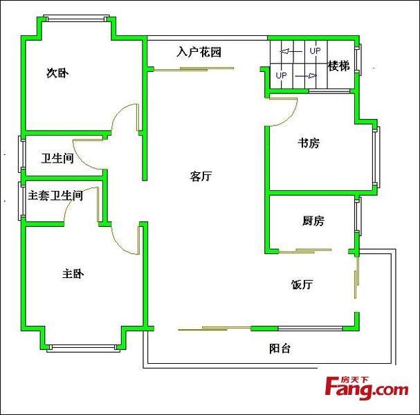 1206二楼设计图 2楼设计图福建厦门图片 房子2楼内部设计图展示 平林