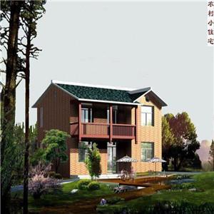农村二层楼房设计效果图