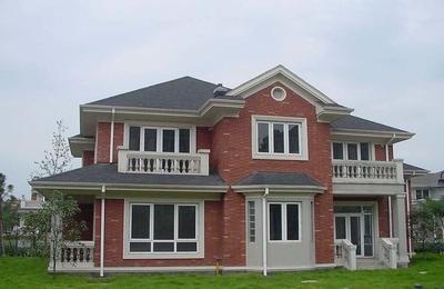 现代风格农村两层楼房设计图片