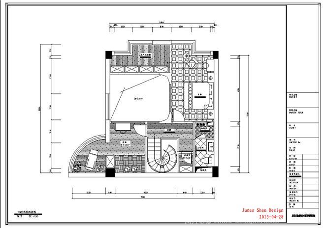 2楼设计图片-最新2楼设计图片大全   沧南小区二楼设计图 复式楼二楼