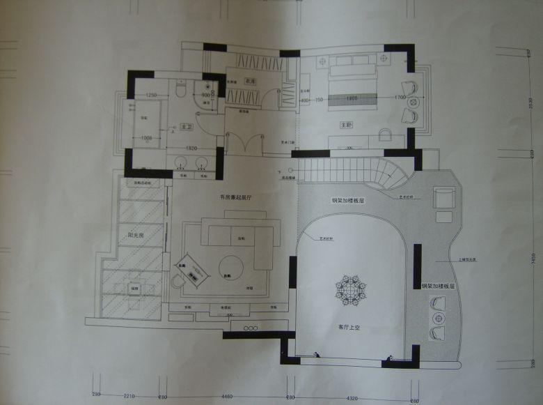2楼设计图福建厦门图片 房子2楼内部设计图展示 平林·二楼三楼设计