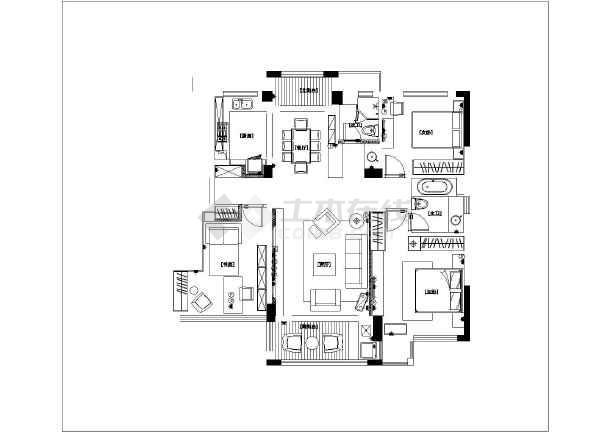 130平方房屋设计平面图