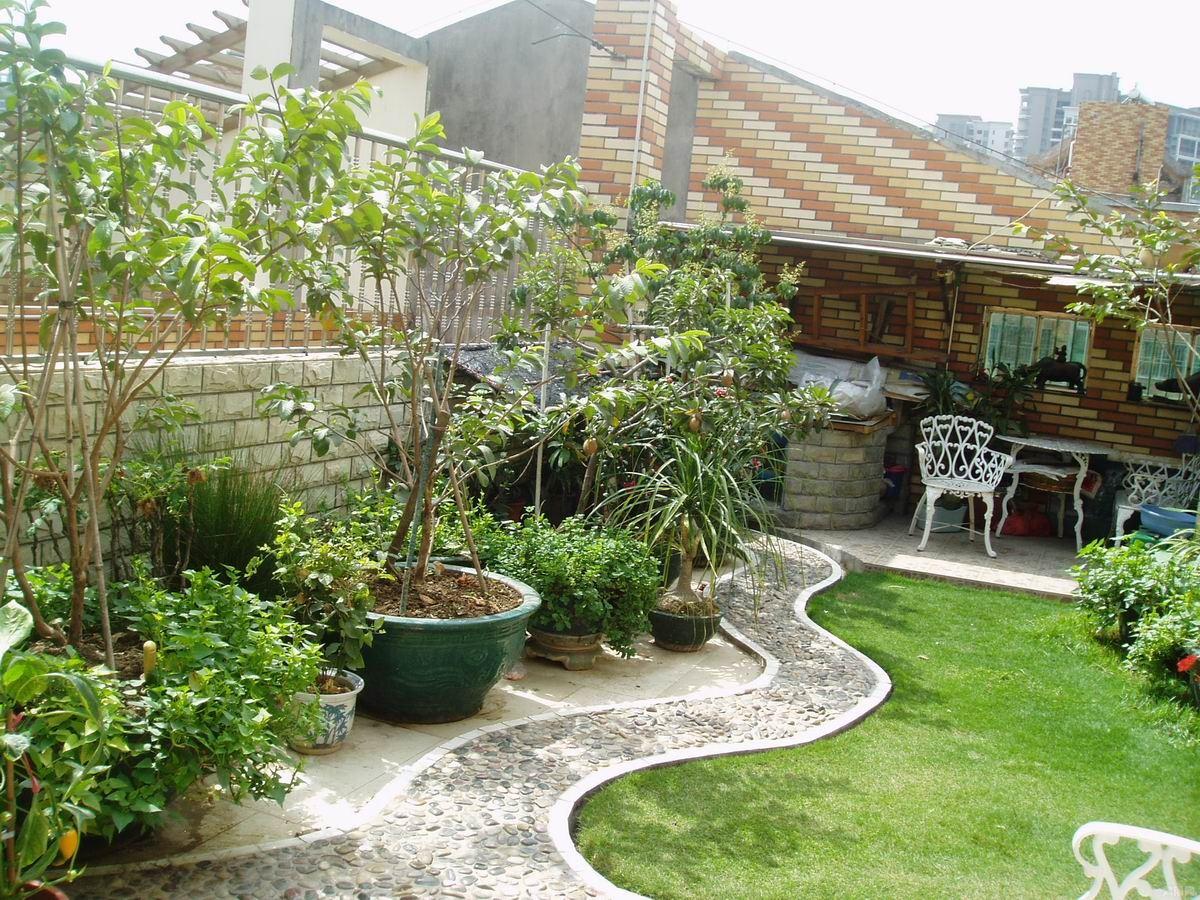 阳台花园装修效果图片-最新阳台花园装修效果图片大全