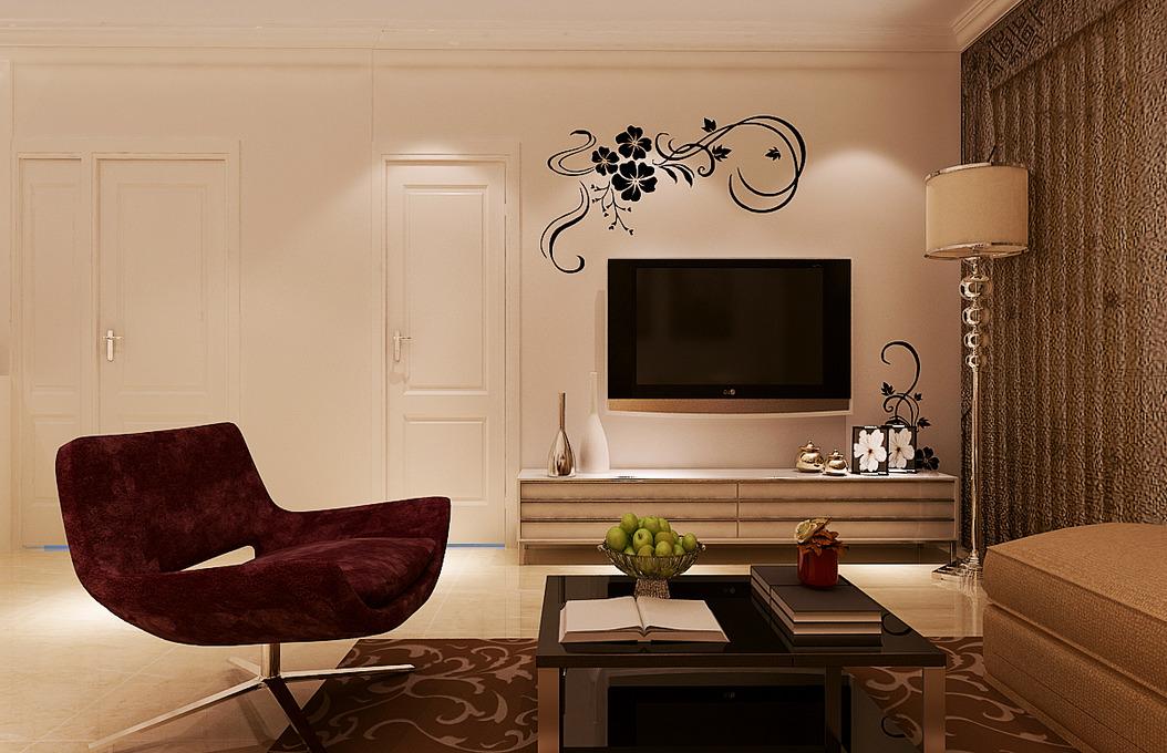 电视墙装修效果图片-最新电视墙装修效果图片大全