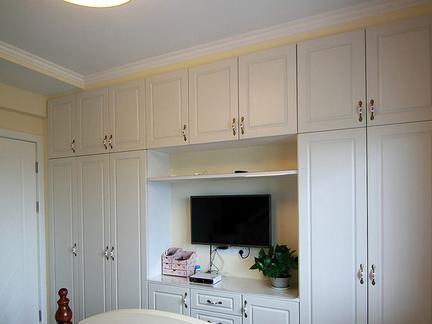卧室衣柜装修效果图片-最新卧室衣柜装修效果图片大全