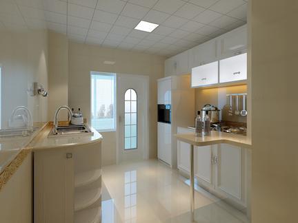 厨房吊顶装修效果图片-最新厨房吊顶装修效果图片大全