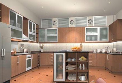 开放式厨房好图片-最新开放式厨房好图片大全_装修_新
