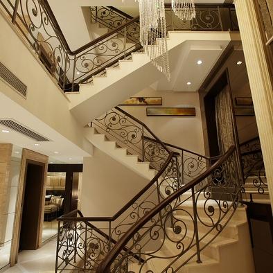 别墅楼梯设计图片-最新别墅楼梯设计图片大全
