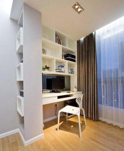 效果图:90平米新房装修实景图