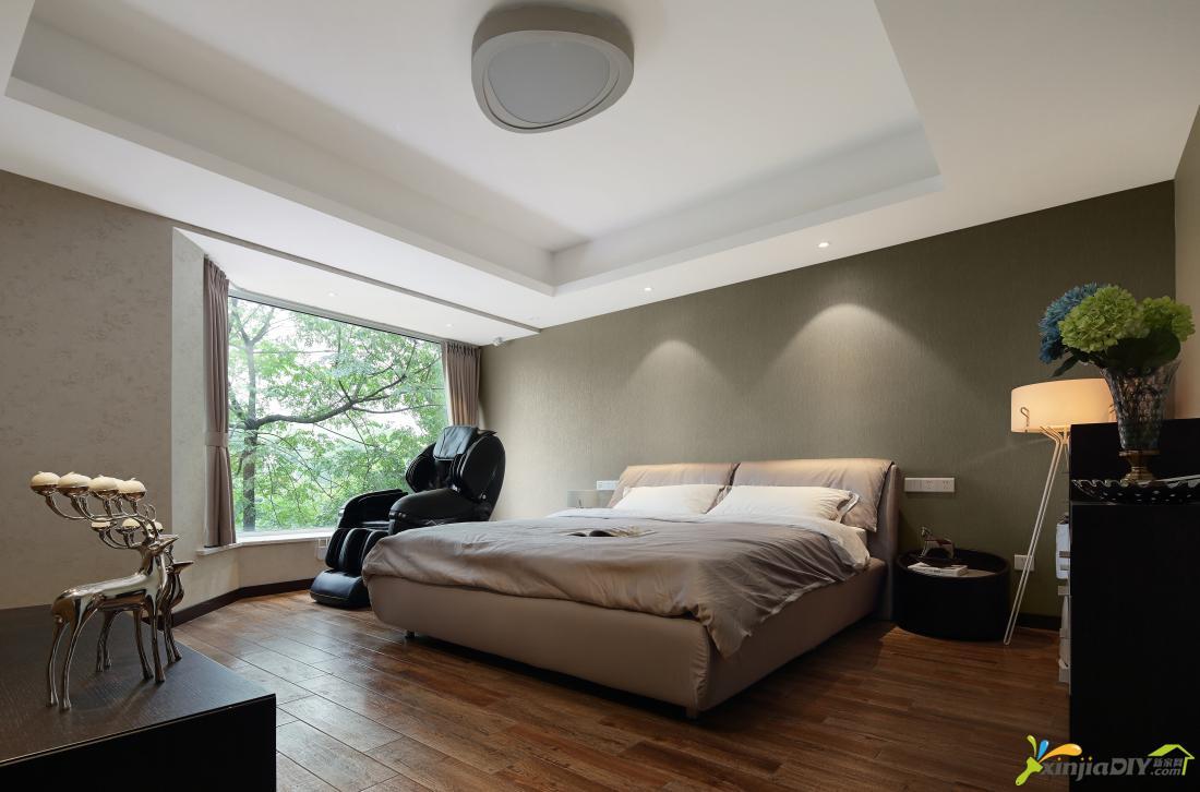 卧室顶棚手绘图片