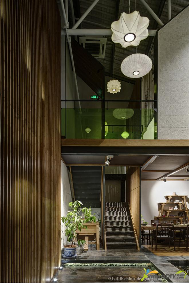 编号:948 - 禅式茶室装修效果图 - 18_古一宏禅茶馆-林森的设计师家园